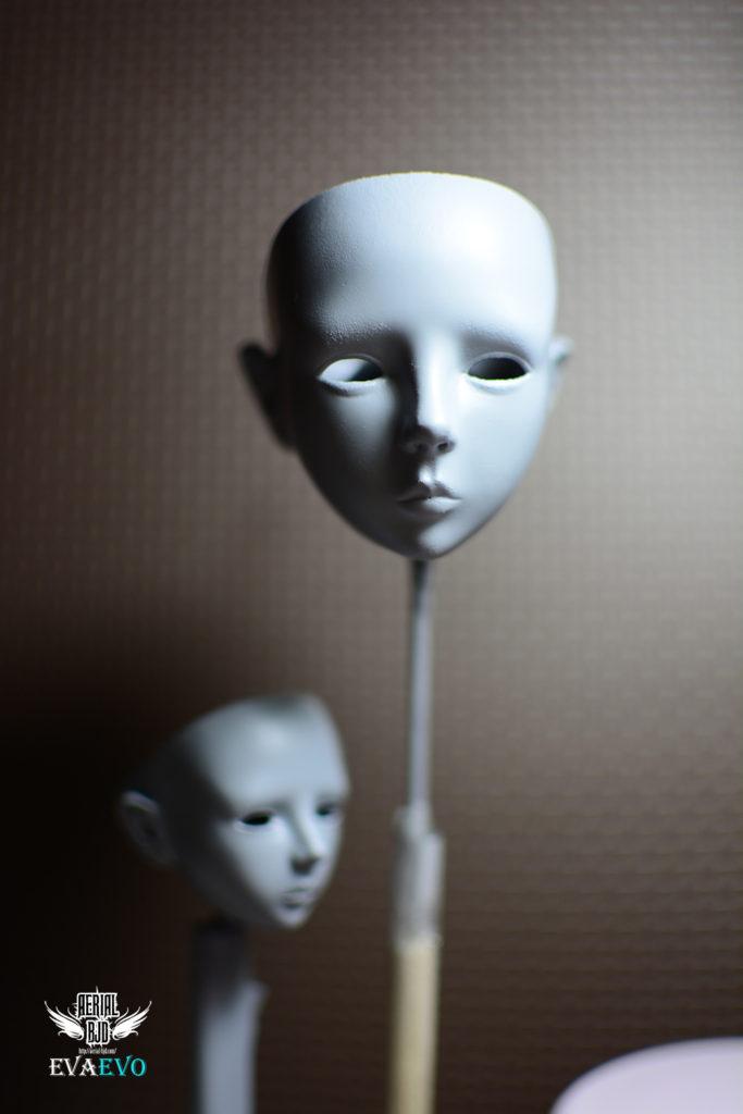 After Sealant EVA Evolution Head Sculpt 1/6, 1/4 Size