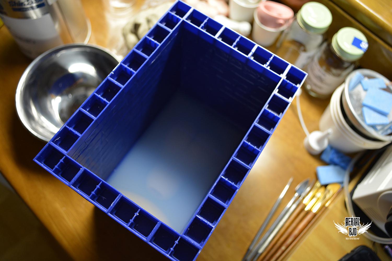 Make a silicone mold.